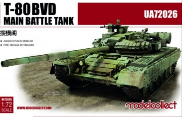 Modelcollect UA72026 - 1:72 T-80BVD Main Battle Tank
