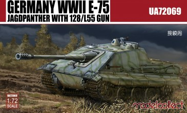 Modelcollect UA72069 - 1:72 Germany WWII E-75 Jagdpanzer with128/L55