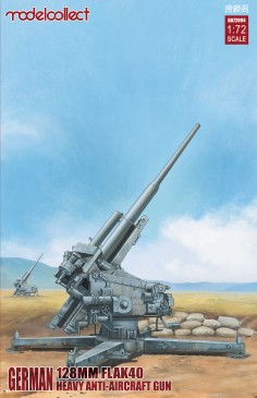 Modelcollect UA72094 - 1:72 German 128mm Flak40 heavy Anti-Aircraft Gun