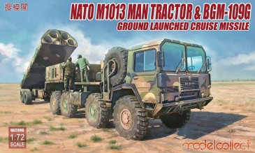 Modelcollect UA72096 - 1:72 Nato M1001 MAN Tractor & BGM-109G Ground Launched Cruise Missile