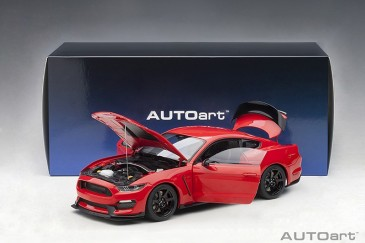 Autoart 72935 - 1/18 Ford Mustang Shelby GT350R - Race Red - Neu