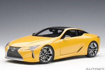 Autoart 78847 - 1/18 Lexus Lc500 - Metallic Yellow - Neu