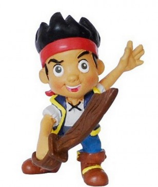Bullyland 12891 - Disney´S Jake And The Neverland Pirates - Jake Mit Schwert Neu