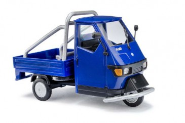Busch 60058 - 1/43 Piaggio Ape 50 Cross Country - Blau - Neu