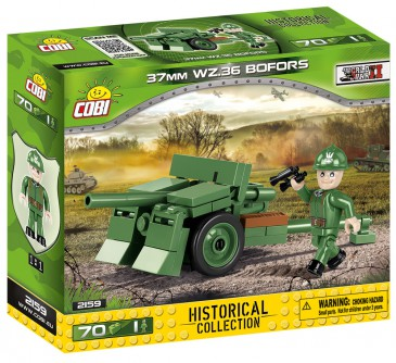 Cobi 2159 - Small Army - WWII 37 mm wz.36 Bofors - Neu