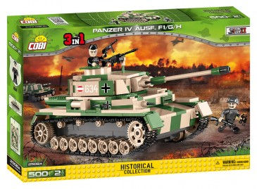Cobi 2508a - Small Army - WWII Dt. Pzkpfw IV Ausf. F1/G/H - Neu
