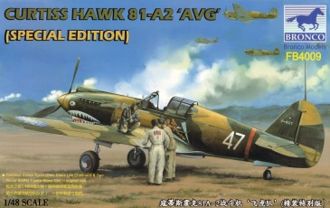 Bronco Fb4009 - 1/48 Curtiss Hawk 81-A2 Avg - Special Edition - Neu