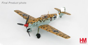 Hobbymaster HA8703 - 1/48 Dt. Messerschmitt Bf109E-7/Trop - 2./JG 27, April 1941