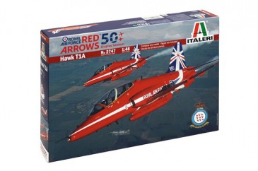 Italeri 2747 - 1/48 Hawk T1A - Red Arrows - 50 Display Seasons - Neu