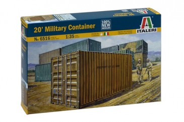 Italeri 6516 - 1/35 20´ Military Container - Neu