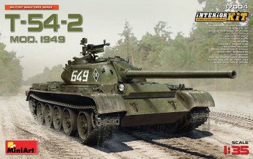 Miniart 37004 - 1/35 Soviet Medium Tank T-54-2 Mod. 1949 - Neu