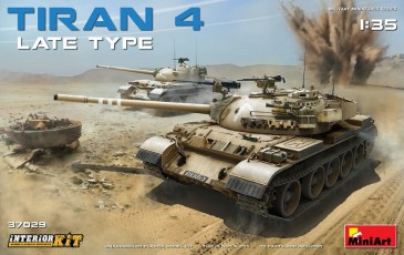 Miniart 37029 - 1/35 Tiran 4 Late Type - Interior Kit - Neu