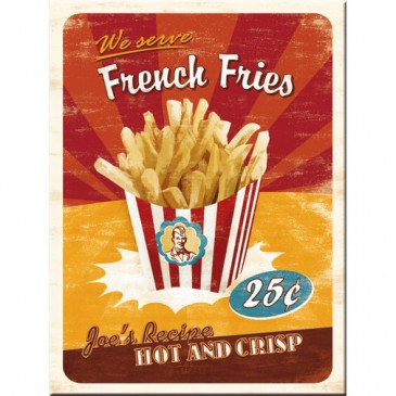 Magnet 14231 - French Fries - 8 X 6 cm - Neu