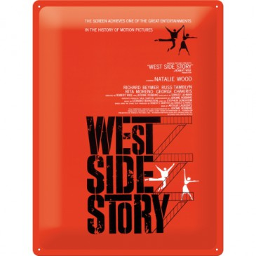 Blechschild 23128 - West Side Story - 30 X 40 cm