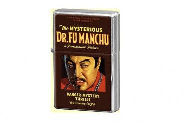 Sturmfeuerzeug / Feuerzeug 80210 - Movie Art - Dr. Fu Manchu - Neu
