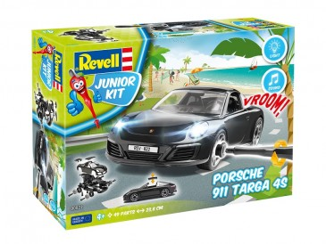 Revell 00822 - 1/20 Junior Kit - Porsche 911 Targa 4S - Neu