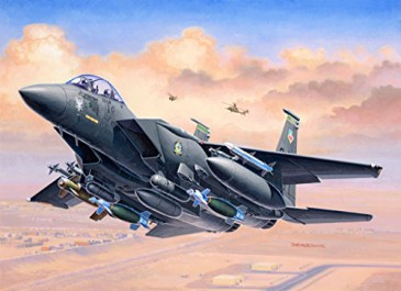 Revell 03972 - 1/144 F-15E Strike Eagle & Bombs - Neu