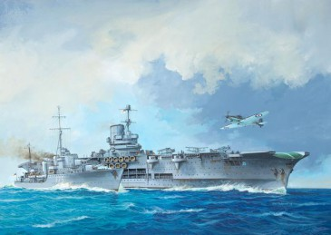 Revell 05149 - 1/720 Hms Ark Royal + Tribal Class Destroyer - Neu