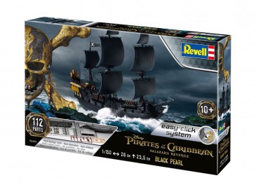 Revell 05499 - 1/150 Disneys Pirates Of The Caribbean - Black Pearl - Neu