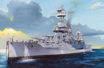 Trumpeter 05339 - 1/350 Uss New York Bb-34 -Neu