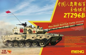 Meng-Model Ts-034 - 1/35 Pla Main Battle Tank Ztz96B - Neu