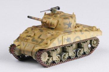 Easy Model 36253 - 1/72 WWII M4 Middle Tank - 4Th Armored Brigade - Neu