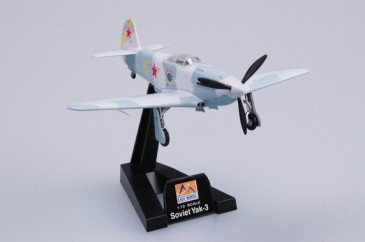 Easy Model 37228 - 1/72 WWII Russische Yak-3 - 1944 - Neu