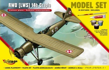 Mirage Hobby 872061 - 1:72 RWD (LWS) 14b CZAPLA (Liaison Plane) Subsonic Interceptor Aircraft