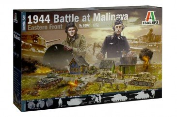 Italeri 6182 - 1/72 Battle Set - Battle At Malinava - Neu