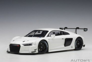 AUTOart 81602 - 1/18 Audi R8 LMS Plain Body Version (white) (composite model/