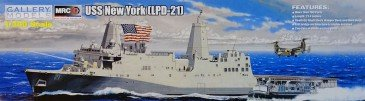 MRC / GALLERY MODELS 64007 - 1/350 USS NEW YORK (LPD-21) - NEU