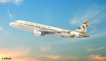 Revell 03968 - 1/144 Airbus A320 - Etihad Airways - Neu
