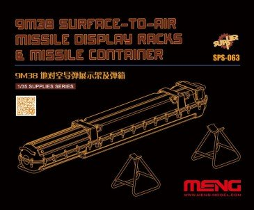 Meng-Model Sps-063 - 1/35 9M38 Surface-to-air Missile Dis.Racks & Missile Cont.